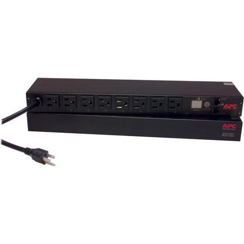 APC Switched 8-Outlet Rack Power Distribution Unit (PDU) - 100/120V, 15A