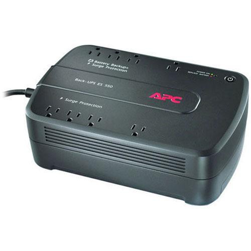 apc be550g back ups 550 8 outlet surge protector and