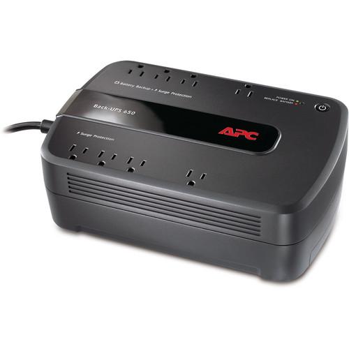APC Back-UPS 650VA 8-Outlet Uninterruptible Power Supply 390W - Canada