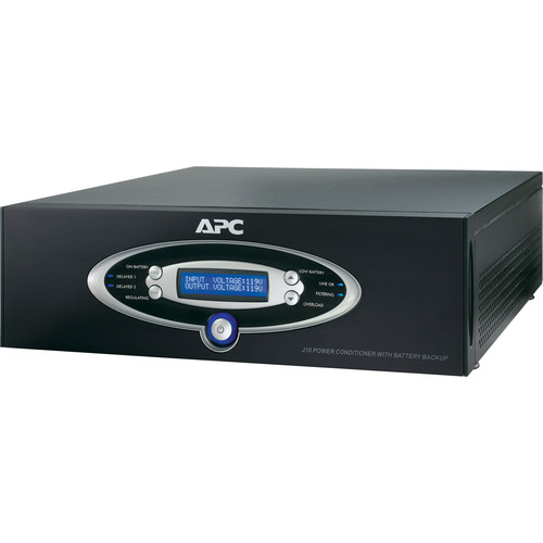 APC J15 Home Theater Power Conditioner & Battery Backup - Black