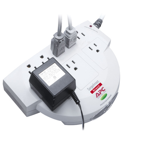 APC NET8 8-Outlet Surge Protector
