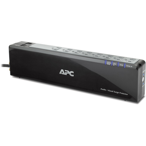APC AV Power-Saving Surge Protector - 8 Outlet