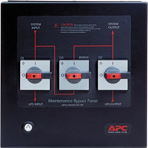 APC Smart-UPS VT Maintenance Bypass Panel 10-20kVA 400V Wallmount