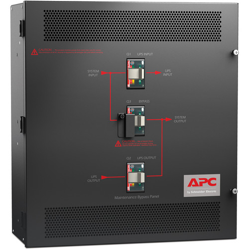 APC Smart-UPS VT Maintenance Bypass Panel 10-30kVA 208V Wall Mount