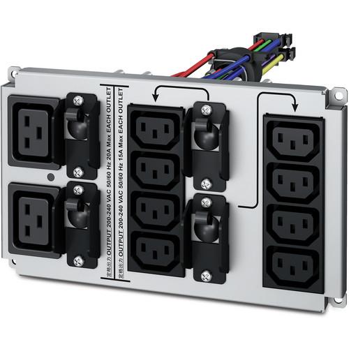 APC Smart-UPS RT PDU Replacement Panel with 8 IEC320 C13 & 2 IEC320 C19