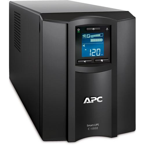 APC SMC1000 Smart-UPS C 1000VA with LCD (120V)