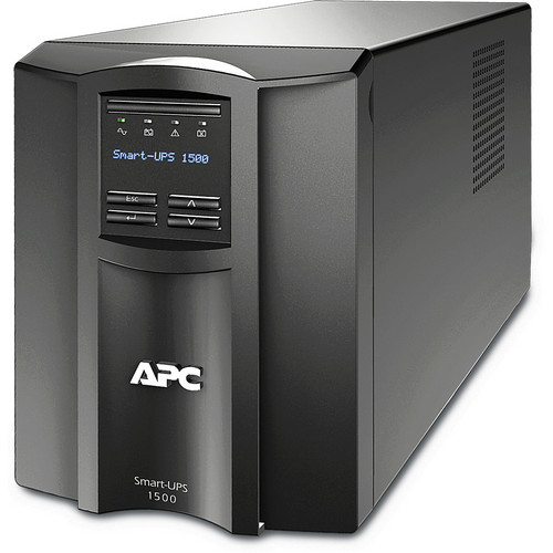 APC Smart-UPS 1500VA with LCD and Audible Alarm Disabled (120V)