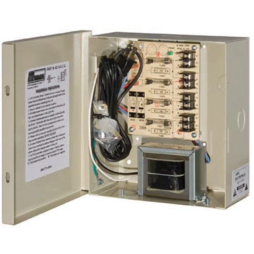 ARM Electronics 4 Camera 12VDC UL Listed Power Supply