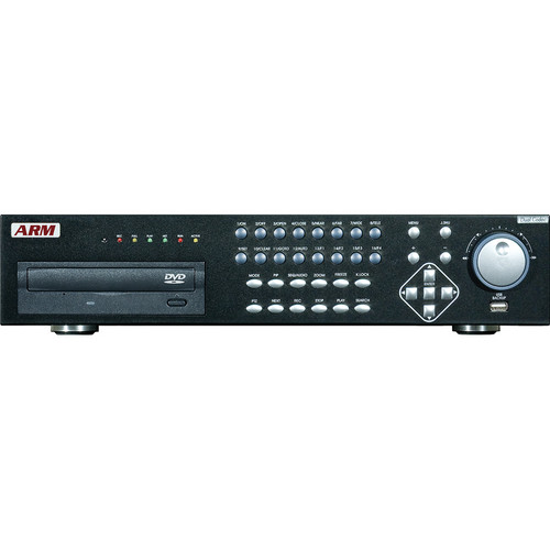 ARM Electronics 16-channel Hybrid H.264 DVR with DVD-R/W