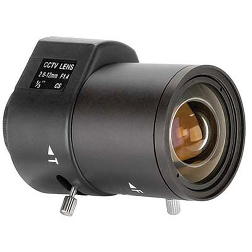 "ARM Electronics VL2812AI 1/3"" CS Mount 2.8-12mm f/1.4 Varifocal Auto Iris Lens"