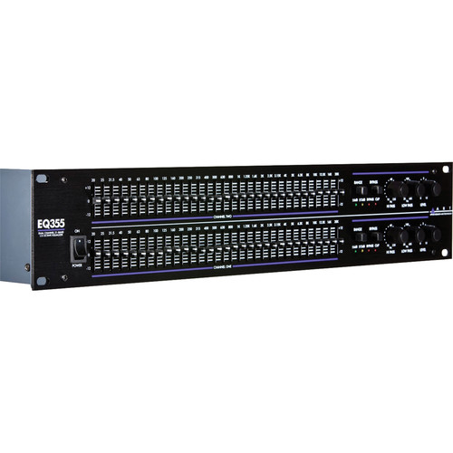 ART EQ-355 - Dual Channel 31-Band Graphic Equalizer