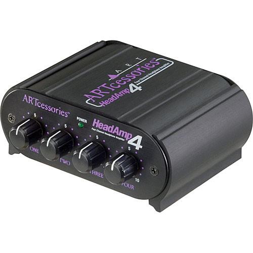 ART HeadAmp4 - Four-Channel Stereo Headphone Amplifier