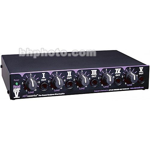 ART HeadAMP V Headphone Mixer/Amplifier