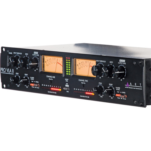 ART High Performance Dual-Input Microphone Preamp/Compressor Package