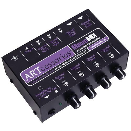 ART MACROMIX 4-Channel Miniature Line Mixer