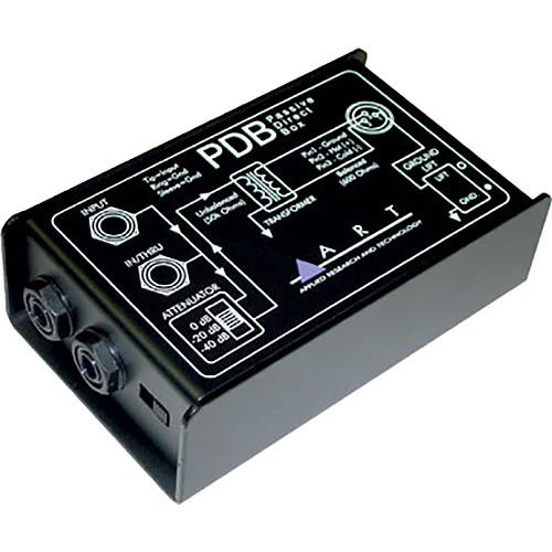 ART PDB Single Channel Passive Direct Injection Box