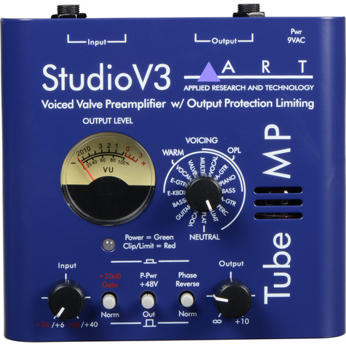 ART Tube MP Studio V3 Microphone Preamp