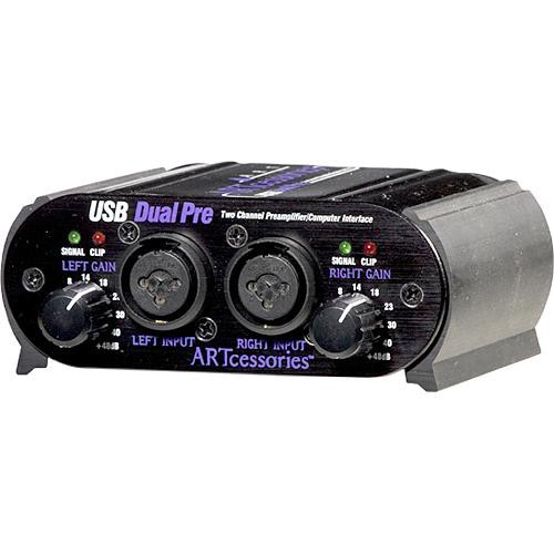 ART USB Dual Pre USB 1.1 Digital Audio Interface with Dual Microphone Preamps