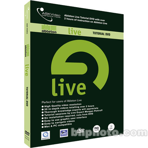 ASK Video DVD: Ableton Live DVD Tutorial