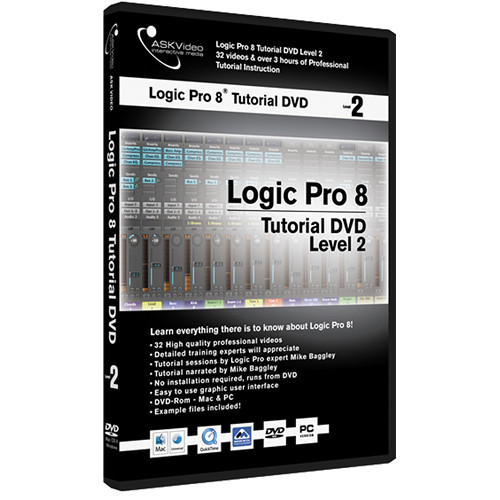 ASK Video DVD: Logic Pro 8 Tutorial DVD (Level 2)