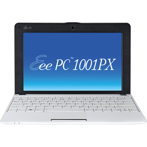 "ASUS Eee PC 1001PX-EU27 Seashell 10.1"" Netbook Computer (White)"