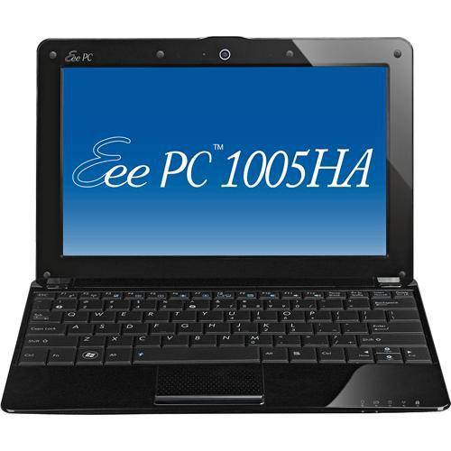 ASUS Eee PC 1005HA-PU1X Seashell Netbook Computer (Black)