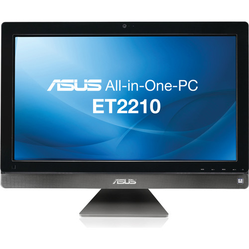 "ASUS All-in-One ET2210IUTS-B006C 21.5"" Multi-Touch Desktop Computer (Gray)"