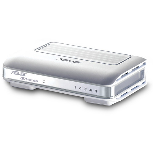 ASUS 5-Port Desktop Unmanaged Ethernet Switch for Home or Small Office