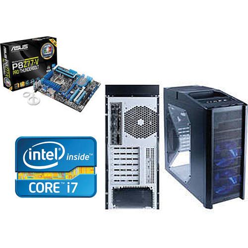 ASUS Antec Nine Hundred Ultimate Gamer Computer Case Kit With Intel Core i7-3770K Processor & ASUS Republic of Gamers P8Z77-V Motherboard