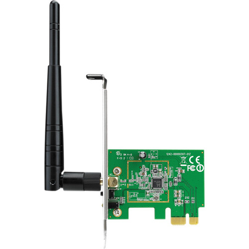 ASUS 150 Mbps Wireless 802.11N PCI Express Adapter For Desktop