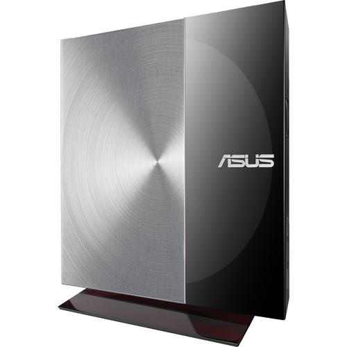 ASUS SDRW-08D3S-U External Slim DVD Writer (Smoked Grey)