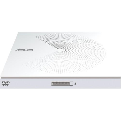 ASUS SDR-08B1-U External USB DVD-ROM Drive (White)