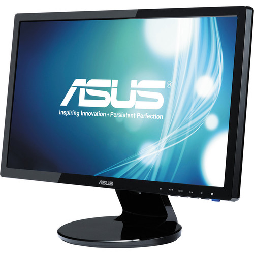 """ASUS VE198T 19"""" LED Backlit Widescreen Computer Monitor"""