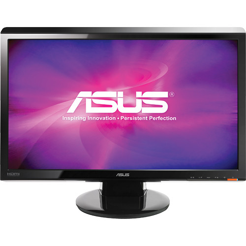 "ASUS VH242H 23.6"" Widescreen LCD Computer Display"