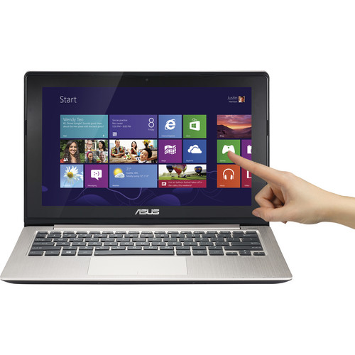 "ASUS VivoBook X202E-DH31T-SL 11.6"" Multi-Touch Notebook Computer (Silver)"