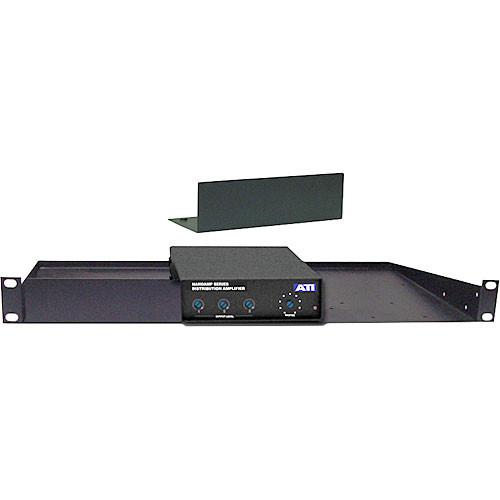 ATI Audio Inc 21097-501 - 1/3 RU Filler Panel for 21075-501 Shelf Assembly