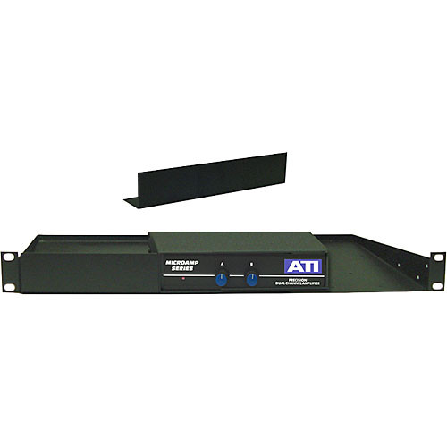 ATI Audio Inc 21098-501 - 1/2 RU Filler Panel for 21075-501 Shelf Assembly