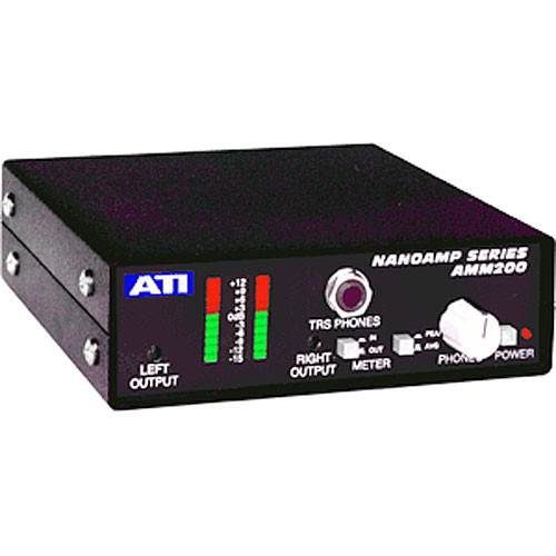 ATI Audio Inc AMM200 Analog Metering Monitor