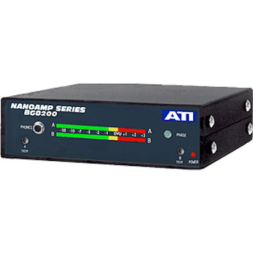 ATI Audio Inc BGD200PPM - Dual Meters (VU Response)
