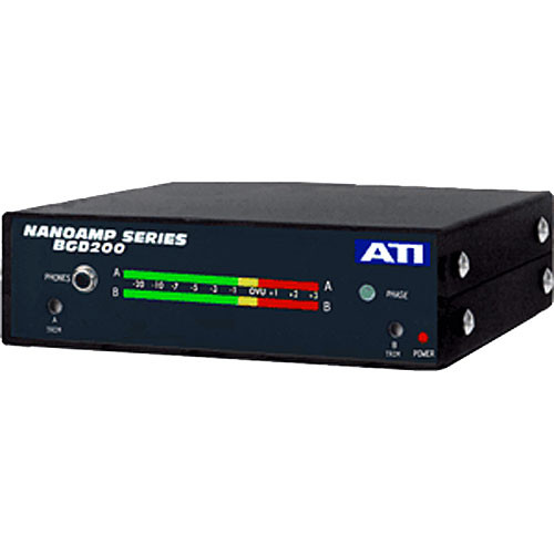 ATI Audio Inc BGD200PPM - Quad Meters (VU Response Response)