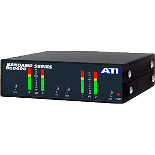 ATI Audio Inc BGD400PPM - Quad Meters (PPM Response)