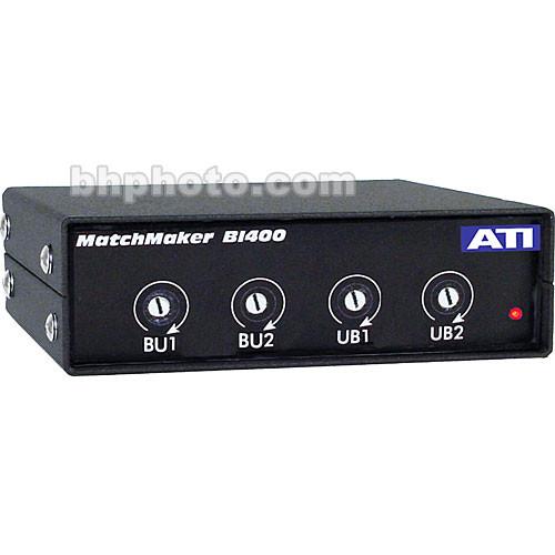 ATI Audio Inc BI-400 - 4-Channel Bi-directional Level Matching Device