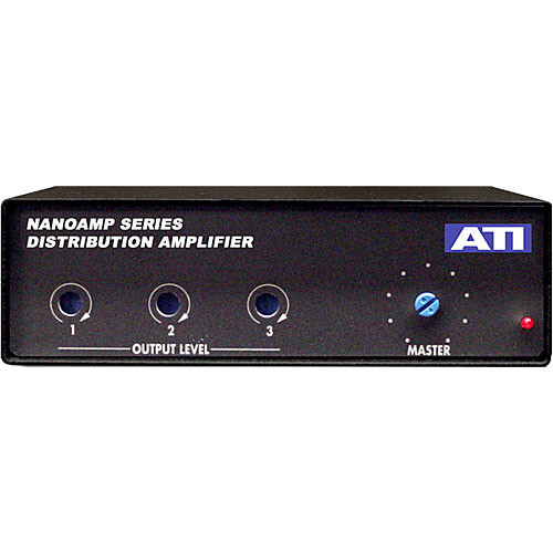 ATI Audio Inc DA103 - Compact 1x3 Line-Level Distribution Amplifier