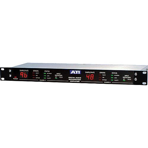 ATI Audio Inc DDA-212XLR - Dual 1x6 Digital Distribution Amp