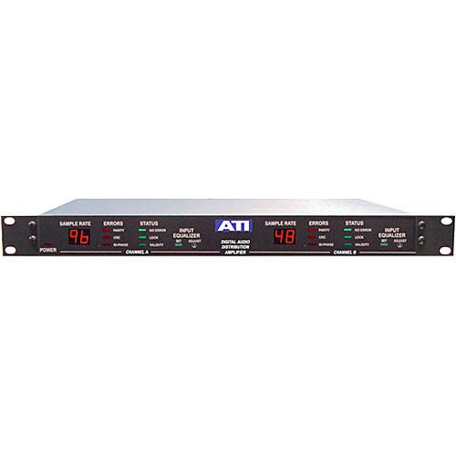 ATI Audio Inc DDA224-BNC - Dual 1x12 Digital Distribution Amplifier