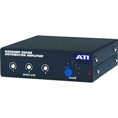 ATI Audio Inc DMA103 - 1x3 Mic Distribution Amp