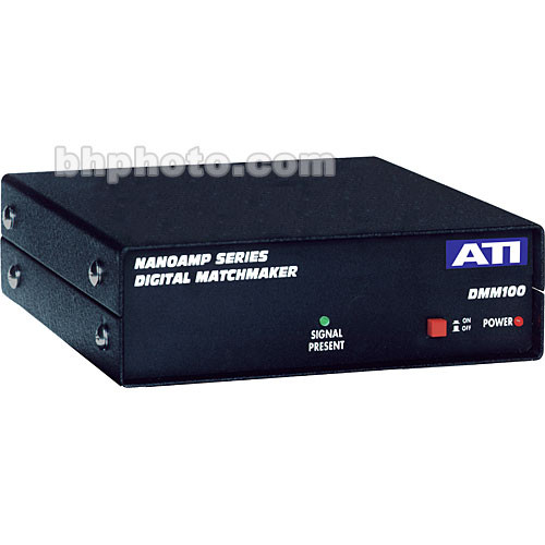 ATI Audio Inc DMM100 Digital Matchmaker