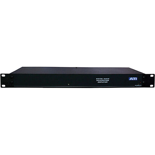 ATI Audio Inc DXA212-XLR - Dual 1x6 Digital Distribution Amplifier