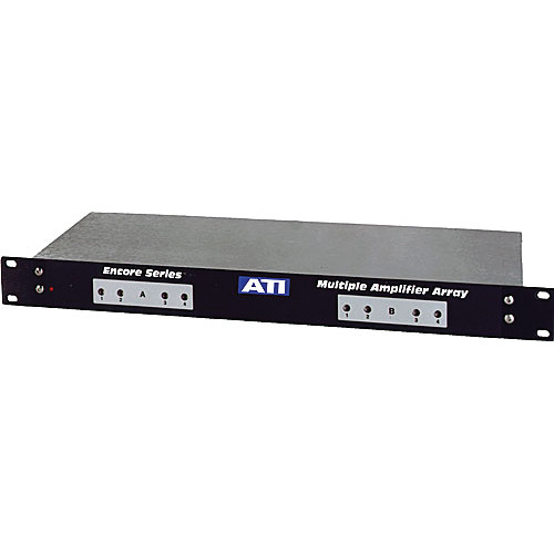 ATI Audio Inc MLA800-2 8-Channel Line Amplifiers with Active Balanced Outputs (1RU)