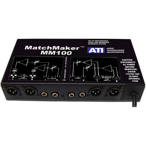 ATI Audio Inc MM100 Match Maker